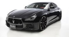 #2017 #Maserati Ghibli - saw a white one today at the #Maserati dealership up the street - I'm drooling.