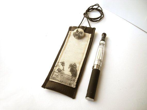 Horse electronic cigarette case e-cig holder e-cigarette by Lunica
