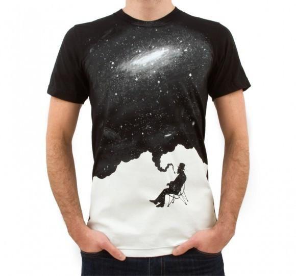 Imaginary Foundation - Nostalgic Mood Men's Shirt, Black
