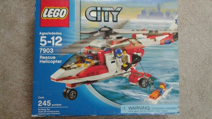 LEGO City Rescue Helicopter 7903 USED 100% complete | Toys & Hobbies, Building Toys, LEGO | eBay!