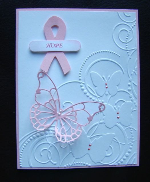 Stampin Up Breast Cancer Awareness Handmade Card Celebrate Life | eBay