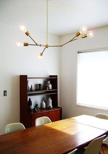 chandelierDining Room, Modern Chandeliers, Diy Chandeliers, Lights Fixtures, Adelman Diy, Adelman Chandeliers, Lindsey Adelman, Diy Lights, Bricks House