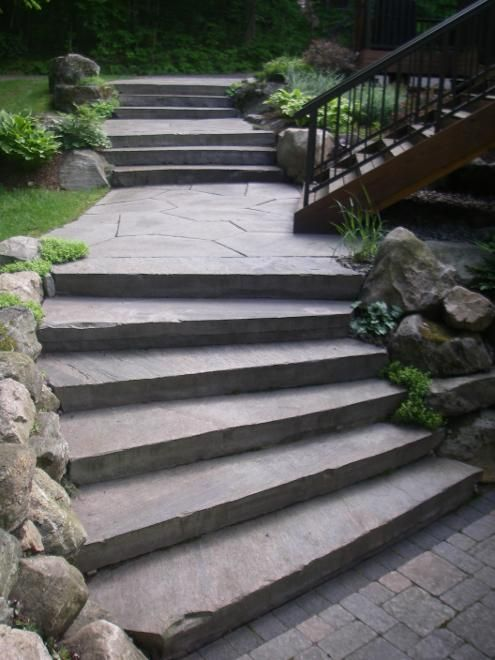Stairway to Heaven. Find this Pin and more on Good Earth Landscaping ... - 22 Best Good Earth Landscaping Images On Pinterest Granite