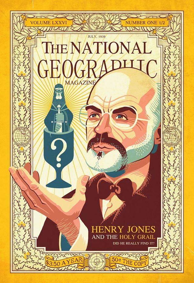 Henry Jones and the Holy Grail by Glen Brogan