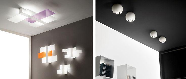 Illuminazione ingressi ed entrate - Applique,faretti,lampadari - Progetti in Luce