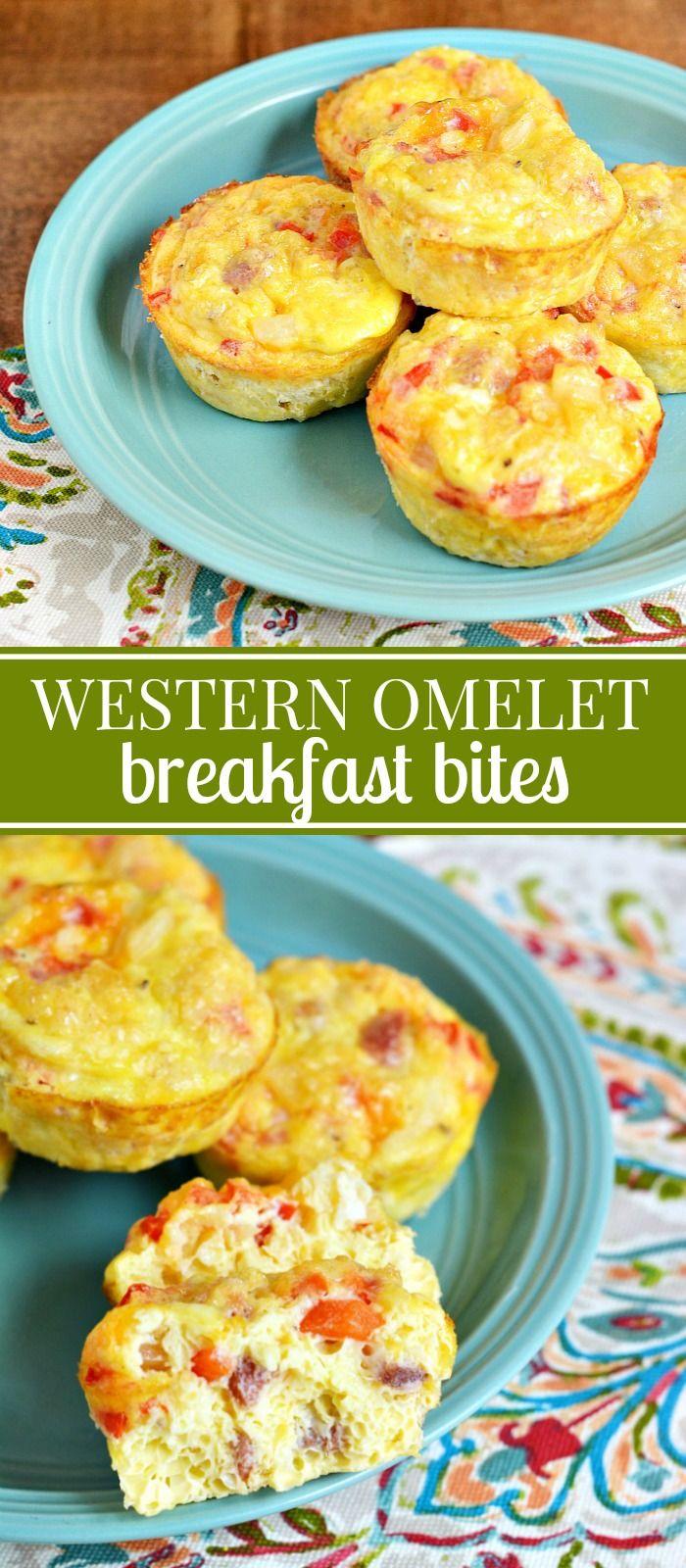 Western Omelet Breakfast Bites Recipe Food Breakfast