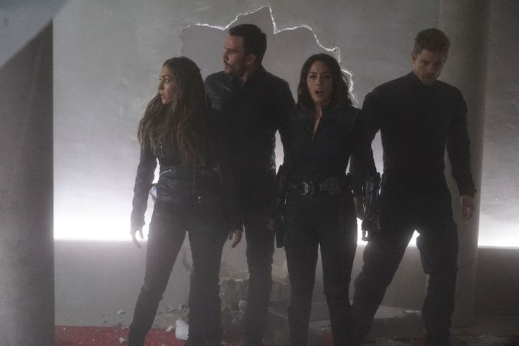"A gallery of images from ""The Team"" has been released, featuring the show's take on the Secret Warriors together for the first time—there's more at the link"