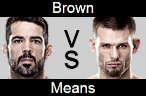 UFC 189 Matt Brown vs Tim Means Prediction