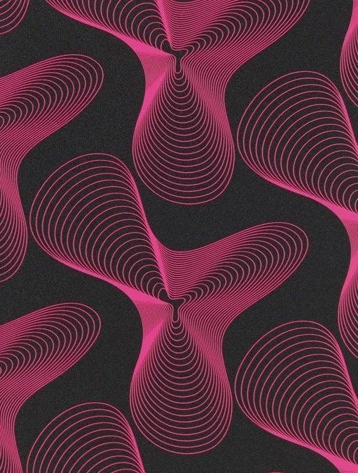 Karim Rashid Geometric Wallpaper
