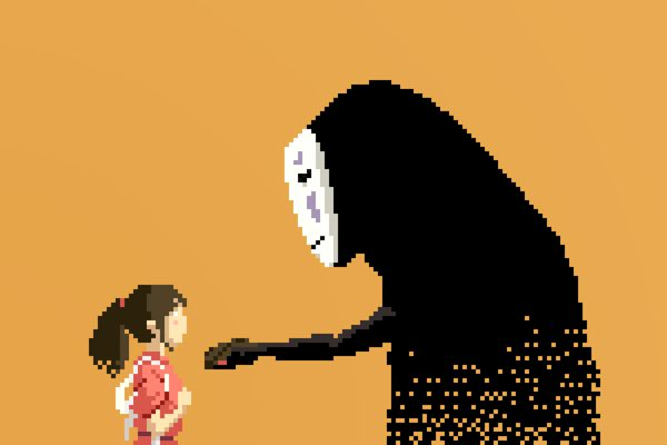 Pixel Art Series pays Tribute to Studio Ghibli Characters https://www.behance.net/gallery/14924437/8-bit-Ghibli