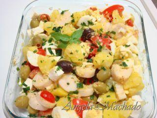 Salada portuguesa, Receita Petitchef