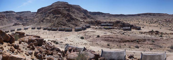 Life on #Mars - Fishriver Canyon #Namibia - Reiseblog
