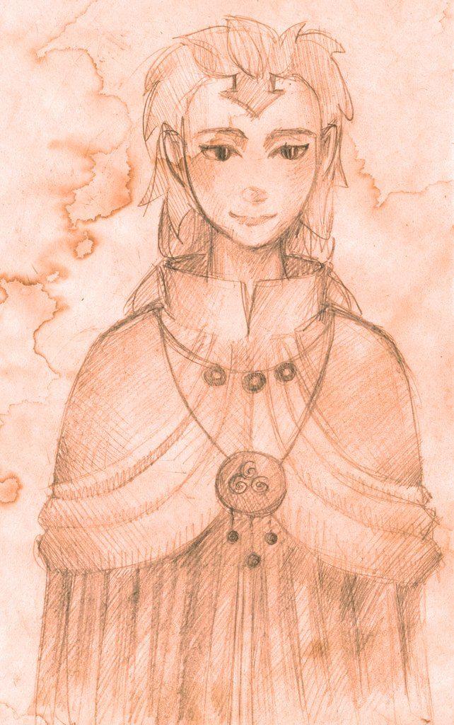 Avatar: The Last Airbender Anime girl. Author: Oreki Rea