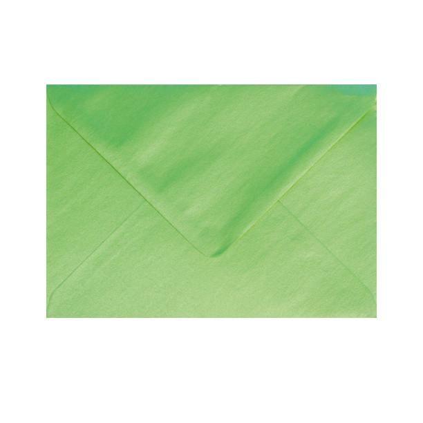 Pearl Lime Green Lustre Diamond Flap Gummed  #envelopes #red #unique #silver #orange #Autumn #pouchette #black #foil #lining