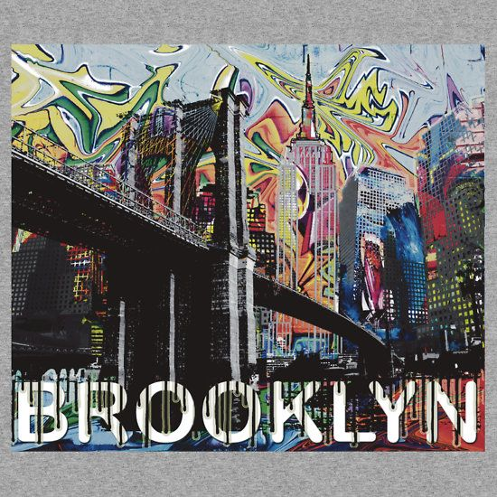 Brooklyn bridge graffiti sticker shop for more for Art and craft store in brooklyn ny