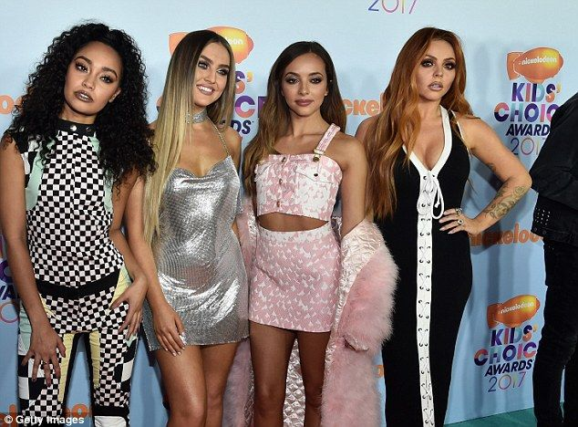 Girl power: The band are up for the Favorite Global Music Star category at Nickelodeon's K...