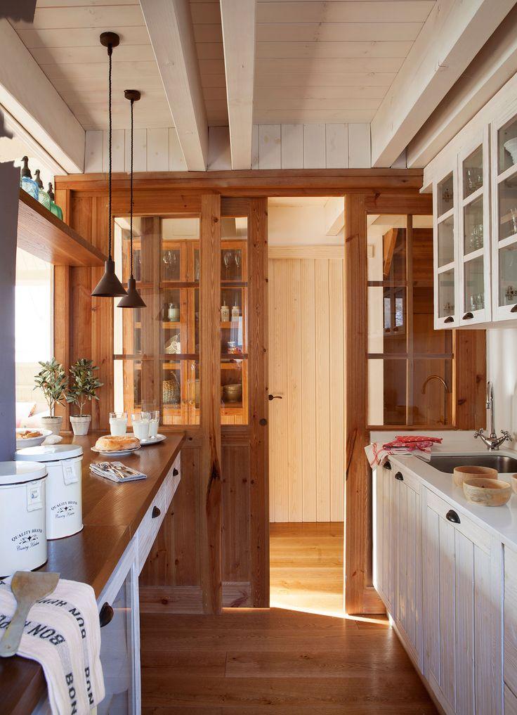 Las 25 mejores ideas sobre puertas de granero en - Puerta rustica interior ...