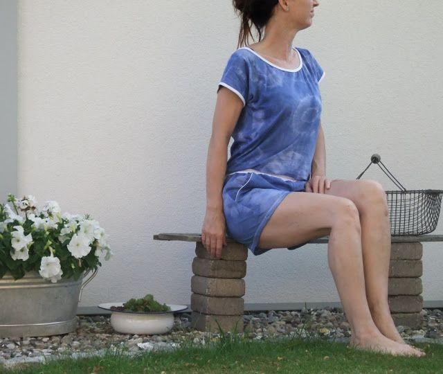 Upcycling- aus 2 Shirt einen Jumpsuit nähen