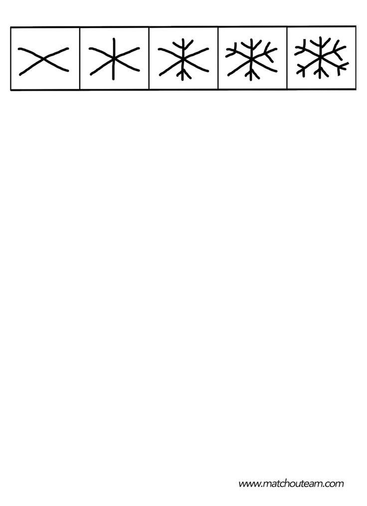 Épinglé par mymy sur dessins dirrigés | Dessiner flocon, Dessin, Flocon de neige dessin