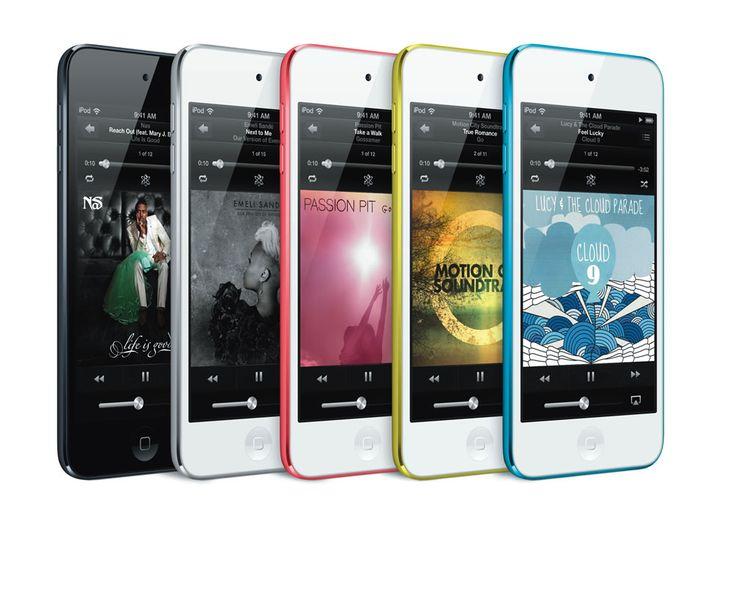 Os 2 novos iPods da Apple