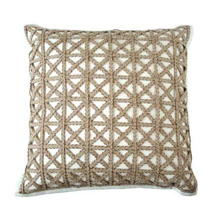 lattice pillow - Dransfield & Ross, $240Bryn Alexandra, Lattice Pillows, Thier Pillows