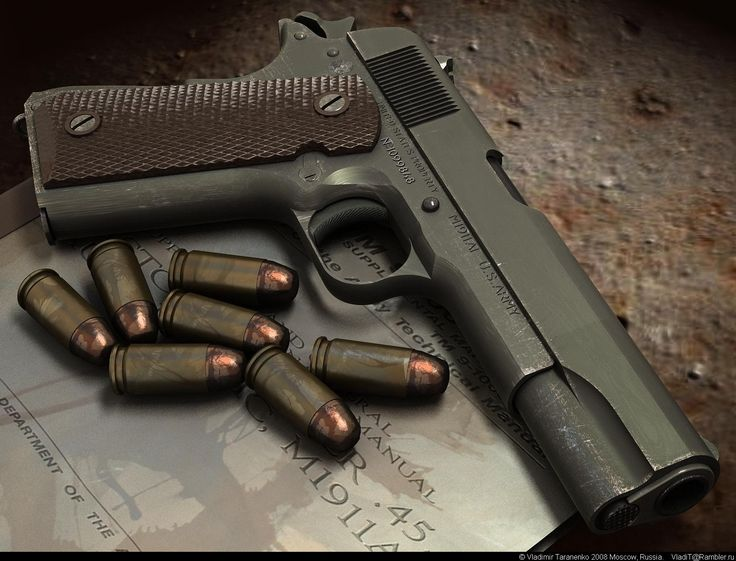 Should be in every man's brief case: US military issue M1911A1