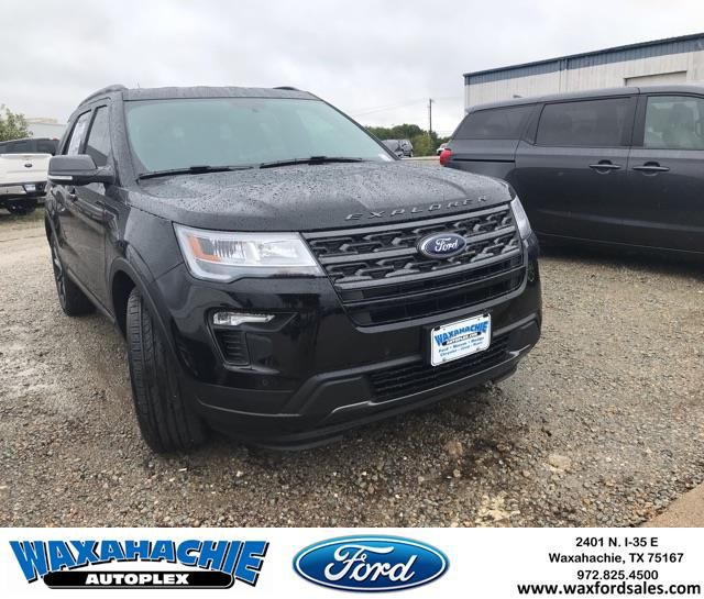 New 2019 Ford Explorer With The Xlt Sport Appearance Package Come