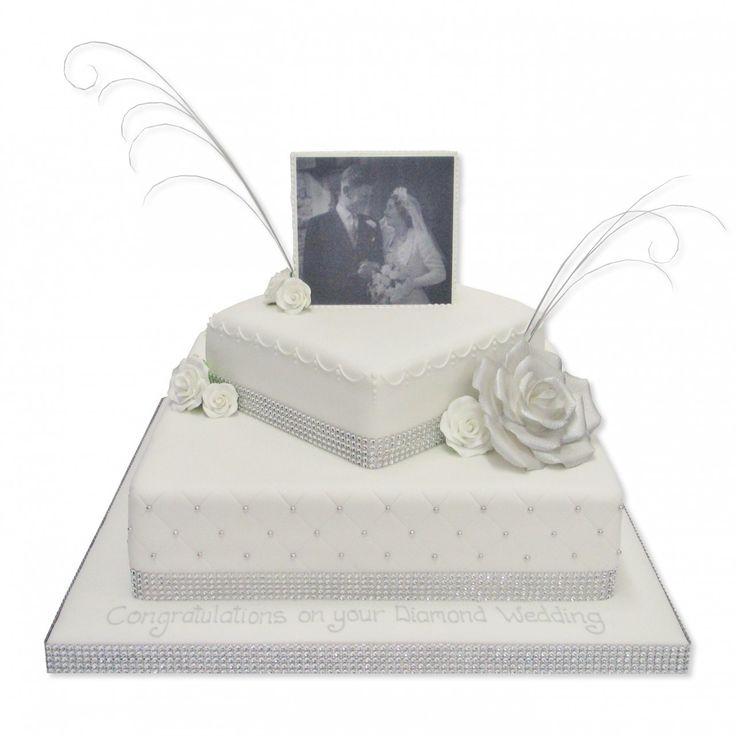 The Cake Store - Anniversary Photo Cake, £170.00 (http://www.thecakestore.co.uk/anniversary-photo-cake/)