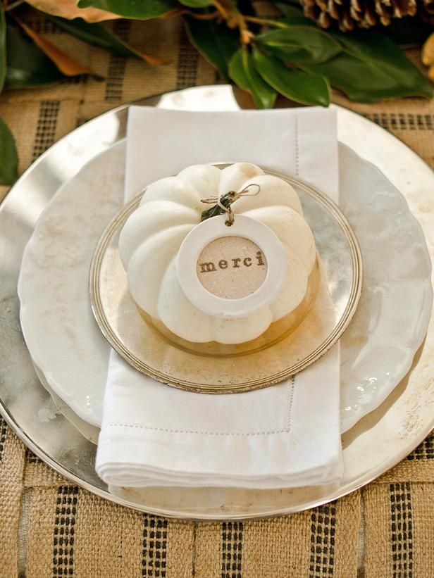 Try a Layered Look - Our Favorite Thanksgiving Table Setting Ideas on HGTV
