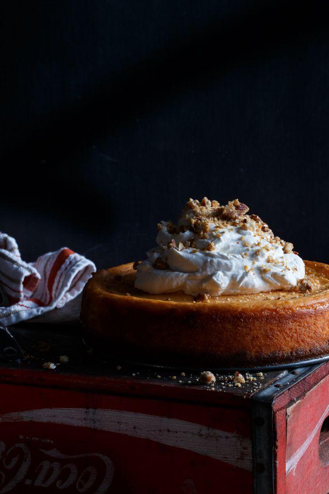 Sweet Potato Cheesecake | Shared Appetite