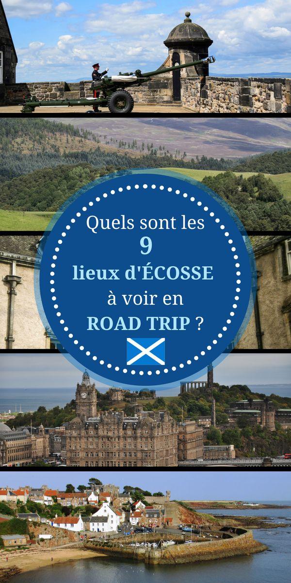 Edimbourg, Falkirk, Blair Castle, le Loch Ness.... tant de lieux incontournables à visiter lors d'un Road Trip. Nous vous proposons un circuit pour votre séjour. #écosse #voyage