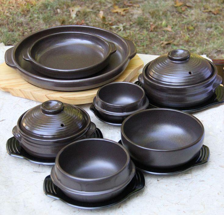The Premium Korean Stone Bowl Collection