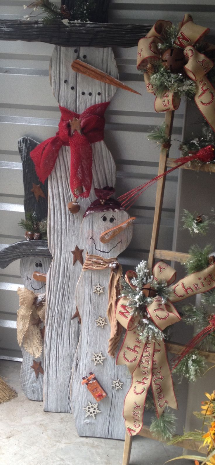 Superior Primitive Christmas Craft Ideas Part - 11: Holiday Crafts, Holiday Ideas, Christmas Ideas, Holiday Decorations,  Christmas Ornaments, Christmas Signs, Pallet Christmas, Decoration Noel, ...