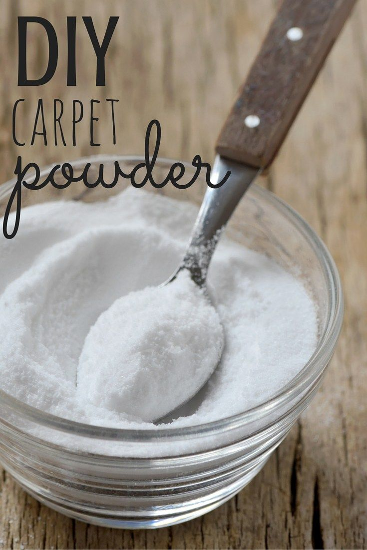 Got kids or pets? Then you probably have a smelly carpet-try this DIY carpet powder and get some fresh back in your life!