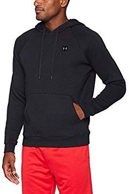 40e31936673c6 Amazon.com : Under Armour Men's Rival Fleece Pullover Hoodie, Black  (001)/Black, Small : Sports & Outdoors