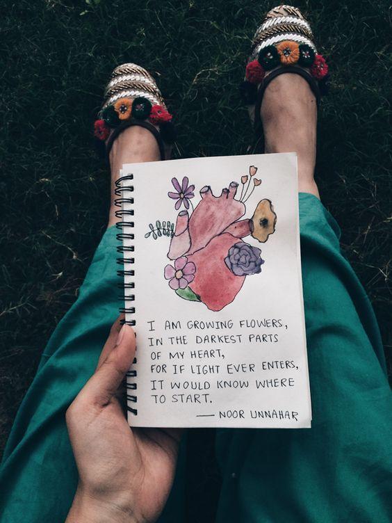 best of art journal – december glows