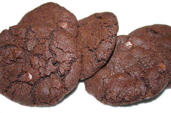 Recette des cookies tout chocolat