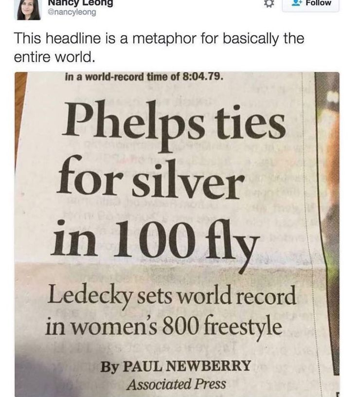 Don't get me wrong, Phelps is awesome, but COME ON. Wth?!?