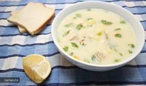 Reteta culinara Ciorba de Pui A la Grec din Carte de bucate, Borsuri, supe, ciorbe. Specific Romania. Cum sa faci Ciorba de Pui A la Grec