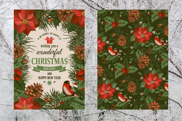 Christmas set by Vector beauty on Creative Market