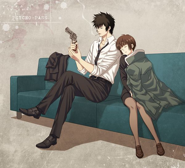 The end of season 1 really does leave you worrying for this beautiful ship. *^*  Kogami x akane forever!!!!!!!!!!!!!