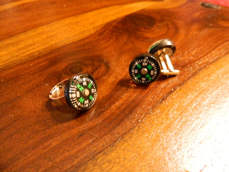 Compass rings and cufflinks  $15
