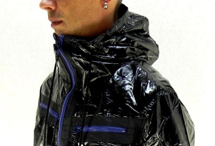 GLANZ Windbreaker Herren M 48 / Damen XL 42 Blouson Jacke Regenjacke