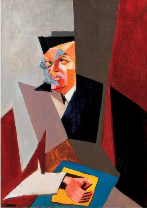 Tristan Tzara, Self? Portrait on ArtStack #tristan-tzara #art