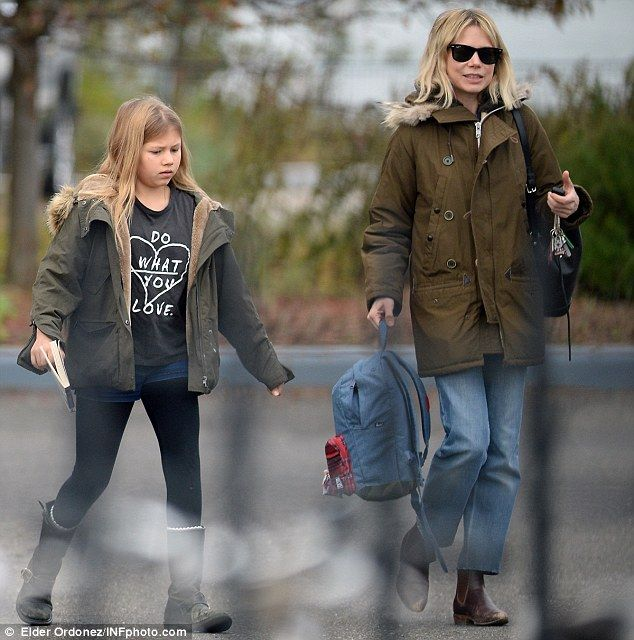 The dad she barely knew: Matilda's father was the late actor Heath Ledger, who was just 28...