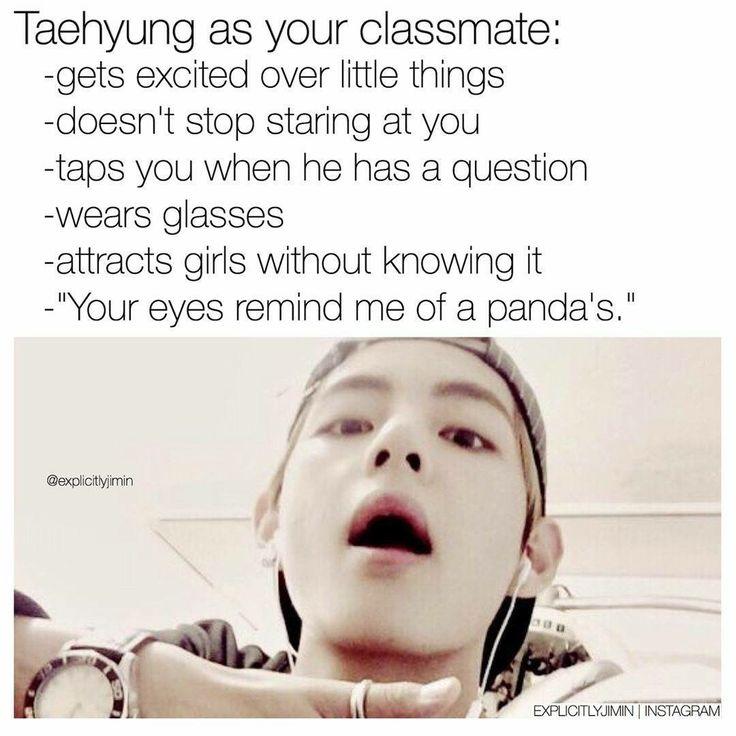 #BTS as your classmate ❤  © explicitlyjimin