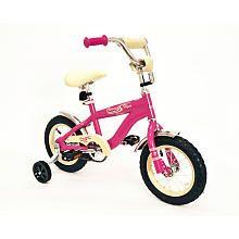 Kettler Girls' 12 inch Classic Flyer Retro Bike - Pink