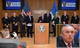 Who thought this would be a good idea?' NYPD chief, Senator Charles Schumer and Mayor Bill de Blasio blast Obama's proposal to slash anti-terror funding by HALF---way to go Ovomit, you can even piss off the commie's in your party!