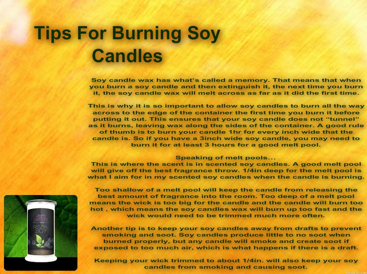 Soy Candle Instructions Best Candle 2018
