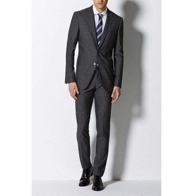 Please don 39 t buy a black suit charcoal gray suit black for Charcoal suit grey shirt